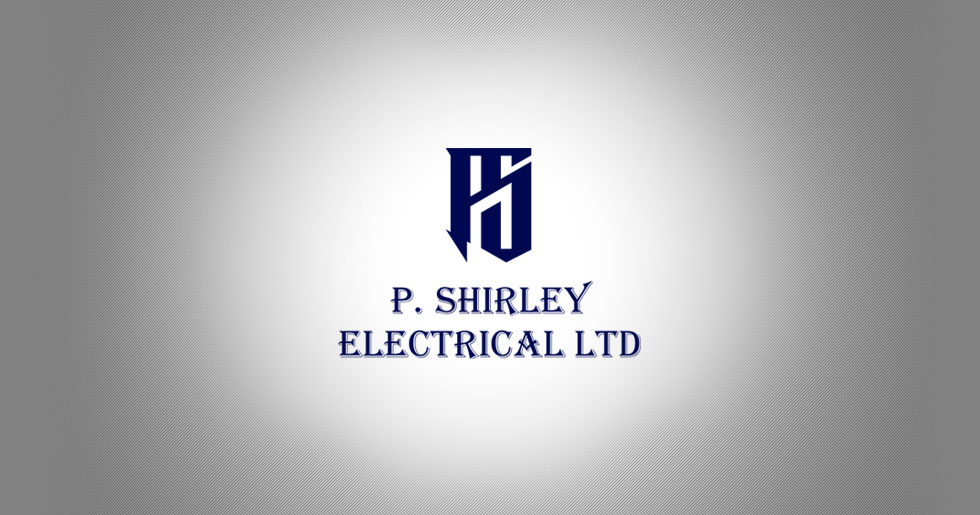 P Shirley Electrical Logo Design
